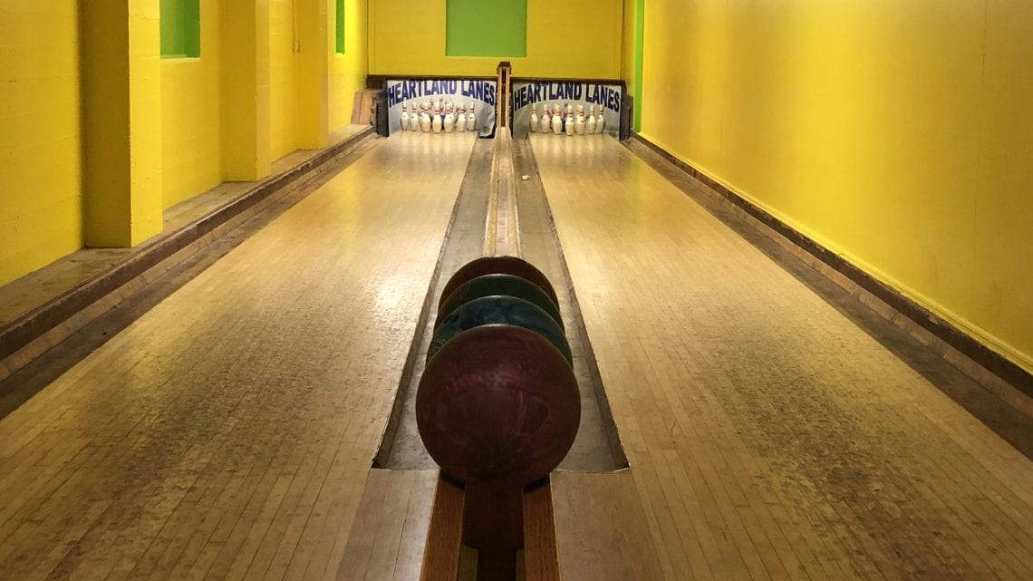 Bowling Alley in the Hospital Game Room | HeartlandBehavioral.com